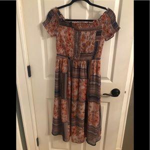 Multi Color Pretty Summer Dress